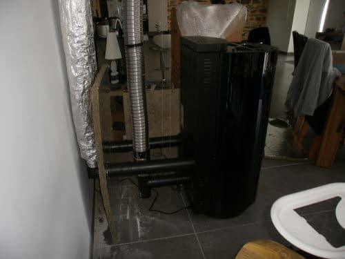 Caliéco réalise des installations techniques complexes comme la pose d'appareils canalisables.