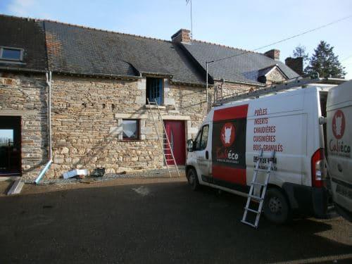 Nos installateurs Caliéco à Lorient, Rennes et Brest