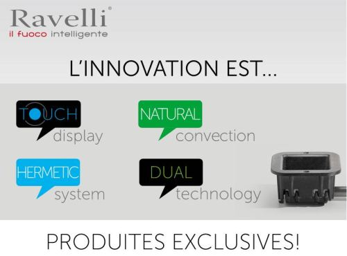 Ravelli produits exclusifs