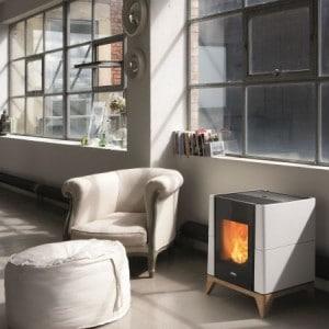 po les granul s dual et convection naturelle calieco. Black Bedroom Furniture Sets. Home Design Ideas