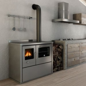 cuisini re bois domino d8 calieco. Black Bedroom Furniture Sets. Home Design Ideas