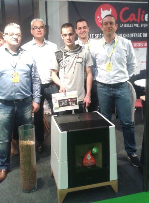 Gagnant du poêle Caliéco foir de Brest 2016